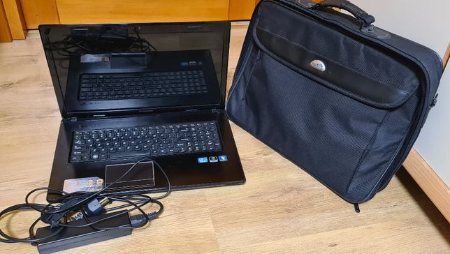 Laptop Lenovo G780, komputer dla osoby starszej, e-lekcje, komputer