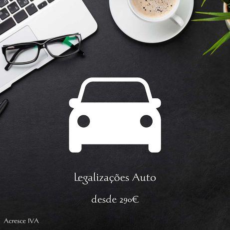 Legalizações | Automóvel | Veículos