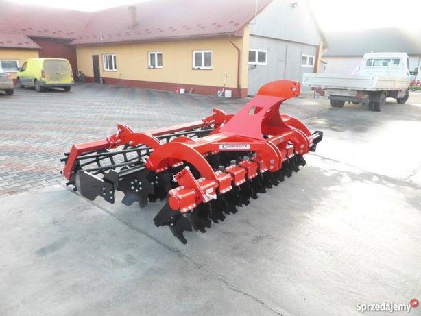 Brona Agregat Talerzowy STRUMYK TIGER 2,5-3M Wał Rurowy Dostawa 560mm