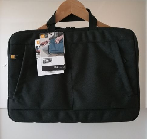 "Case Logic Huxton czarna aktówka torba etui case na laptopa 15,6"" A4"