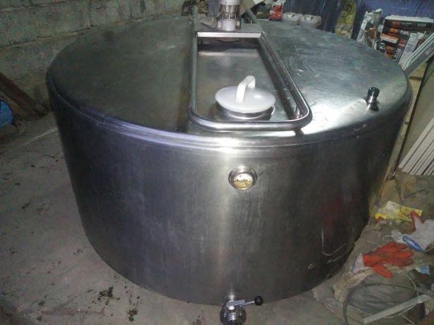 Schładzalnik zbiornik chłodnia do mleka 1100 litrów