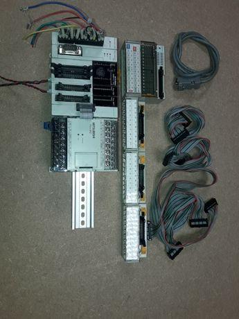 Sterownik, plc, komputer, Mitsubishi Fx 2n.