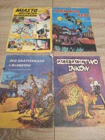 Komiksy Old Shatterhand i Winnetou, Miasto milczących rewolwerów, inne