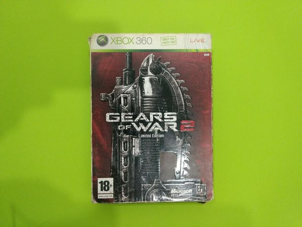 Gears of War 2 Limited Edition Steelbox *caixa metálica Xbox 360 One X