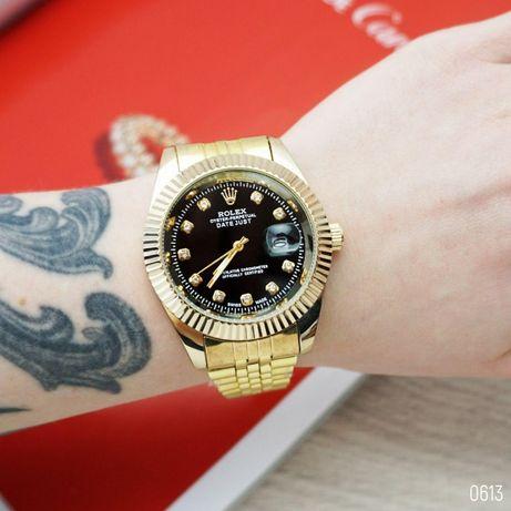 Стильные Rolex DateJust (8 расцветок). Наручные Женские-Мужские часы!
