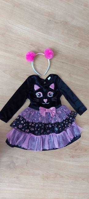Карнавальный костюм Котика кошки, кота, платье