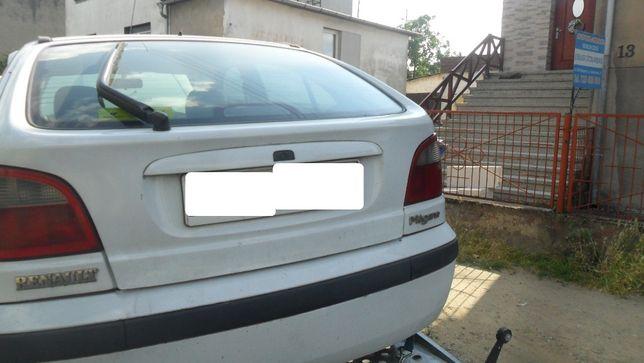 Renault Megane I po lifcie,kolor biały, zderzak tylny kompletny
