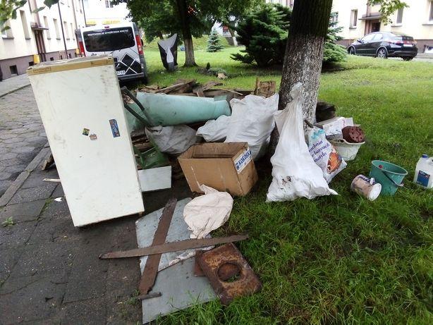 Sprzątanie Opróżnianie Wywóz utylizacja mieszkania domy piwnice strych