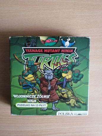 Wojownicze żółwie ninja zestaw 13 płyt