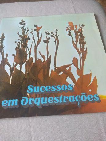 Disco vinil portugueses sucessos em Orquestrações