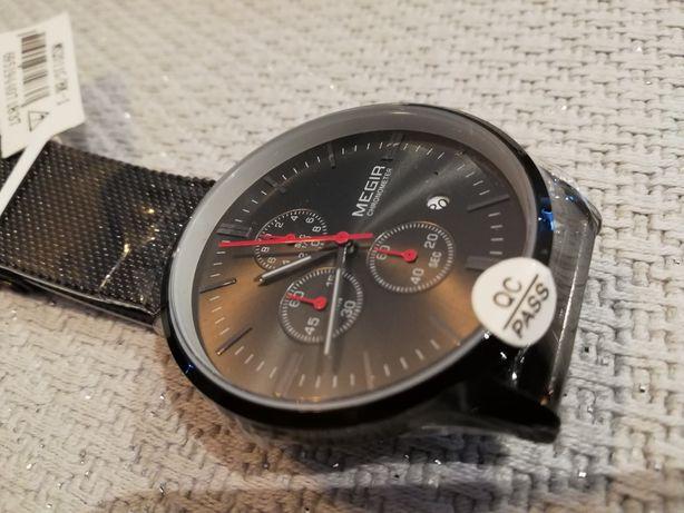Piękny zegarek Megir Idealny Prezent!!!