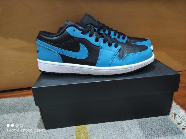Air Jordan 1 low laser blue como novas