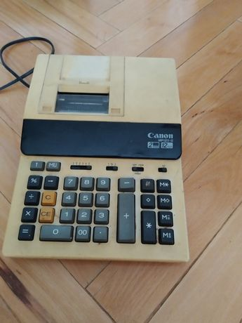 Kalkulator Canon z drukarką