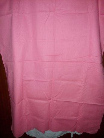 Натуральная, летняя,розовая ткань 220 на 82 см