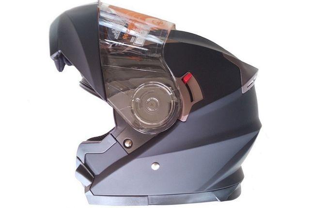 Capacete Modular Integral Kurban 925 viseira sol