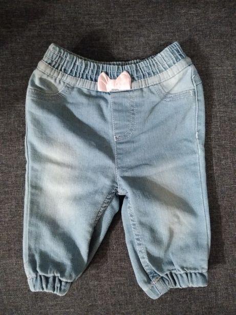 Spodenki i body jeansowe r. 68-74
