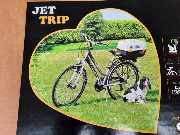 Transporter dla psa kota na rower bagaznik bellelli wloski