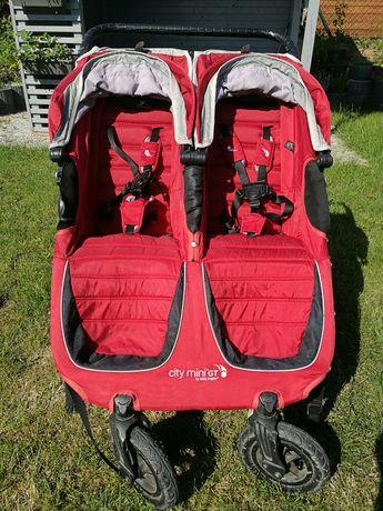 Wózek spacerówka podwójny bliźniaczy Citi Mini Gt Baby Jogger