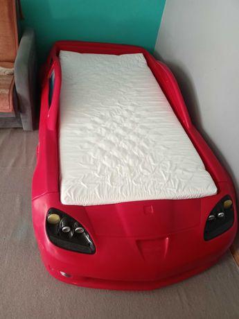 Łóżko CORVETTA czerwone