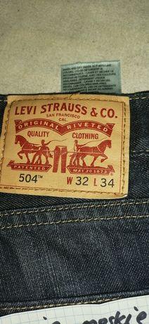 Levis męskie spodnie jeansy 84cm