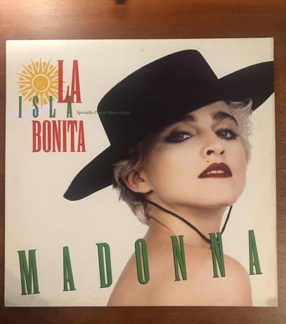 Madonna la isla bonita, виниловая пластинка