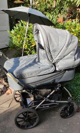 Wózek Emmaljunga Edge Duo Combi Lounge Grey  2w1