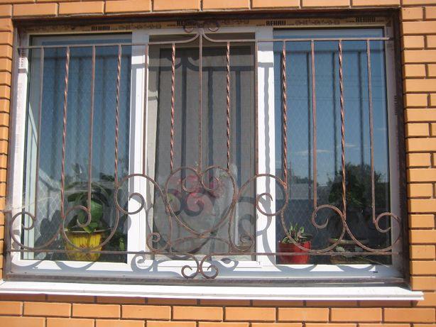 металеві грати на вікна