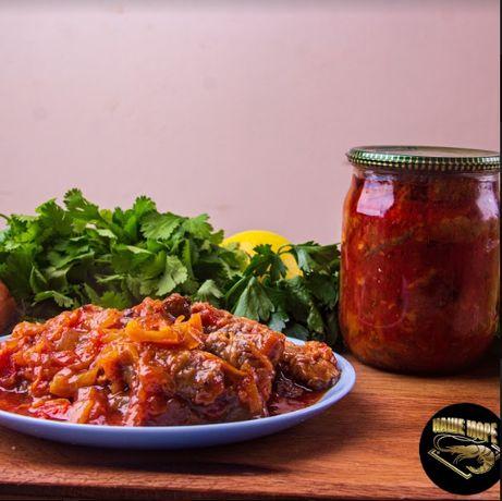 Рибні консерви: печінка тріски,бичок в томаті ,стерлядь,осетер, білуга