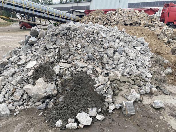 Gruz budowlany beton