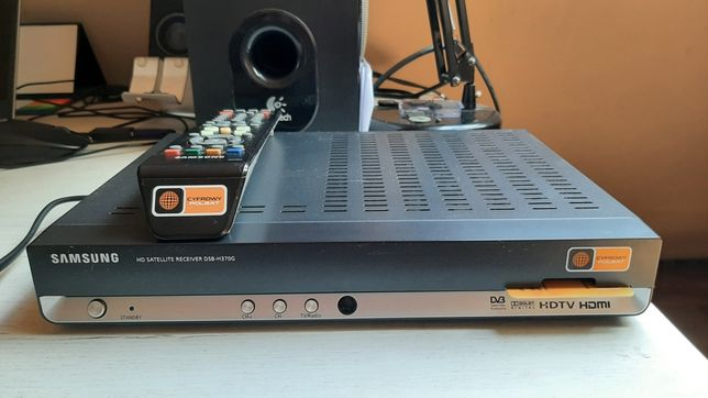 Dekoder Cyfrowego Polsatu Samsung DSB-H370G z TV na kartę