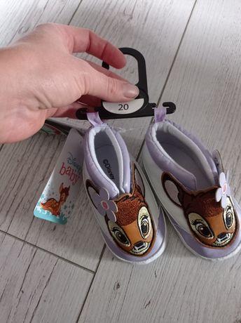 Buciki niemowlęce nowe rozm. 20 Disney Bambi
