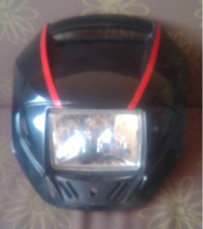 lampa przednia z owiewka do motoroweru,motocyklu