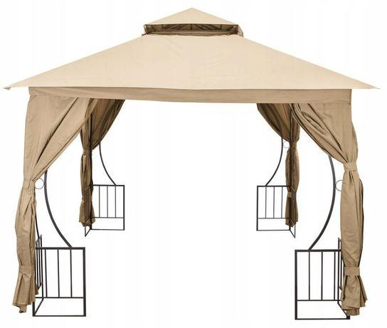 namiot pawilon ogrodowy LUX ALTANA 3X3 M ZE ŚCIANKAMI