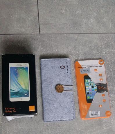 Tel Samsung Galaxy A5 + szkło etui