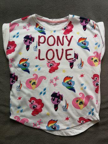 nowa bluzka bluzeczka koniki kucyki pony