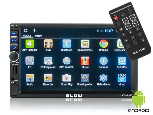"""Okazja nowe Radio BLOW AVH-9900 2DIN 7"""" GPS Android"""