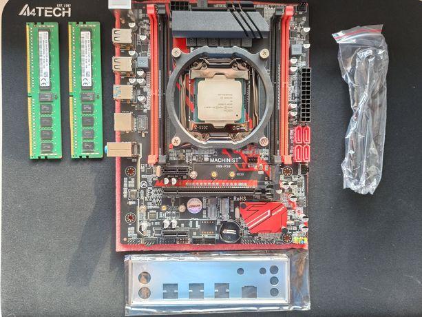 Комплект Новинка MACHINIST X99-RS9 LGA2011-3+Xeon E5 2620 V3+16Gb DDR4