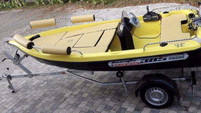 Łódka 385 rekreacyjna wędkarska
