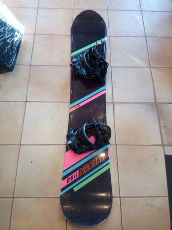 Nidecker 160cm + wiązania Flow deska snowboardowa