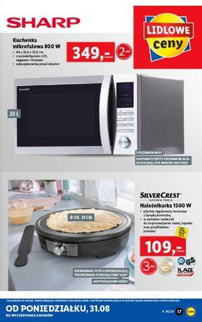 Nowa Kuchnia mikrofalówka Sharp R 32 L nowa c w skl 350