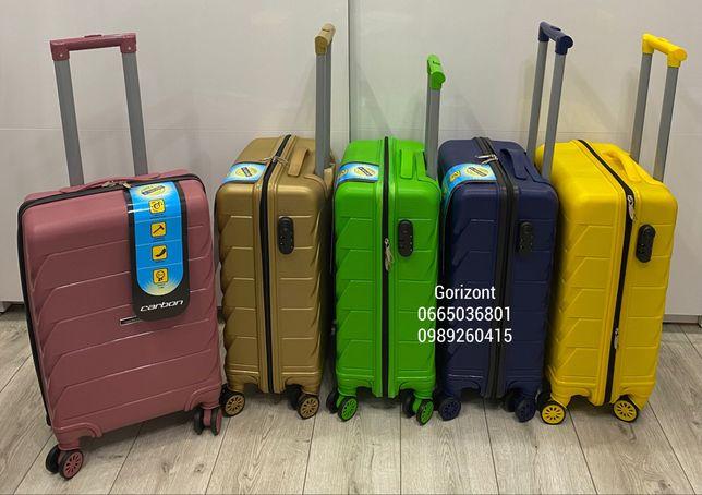 Чемодан чемодыны валіза сумка кейс Carbon 2030 полипропилен  (Новинка)