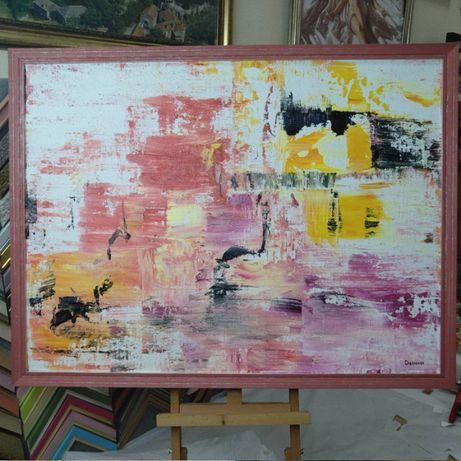 Рамка для картины, рамка для холста, картинный багет №1007