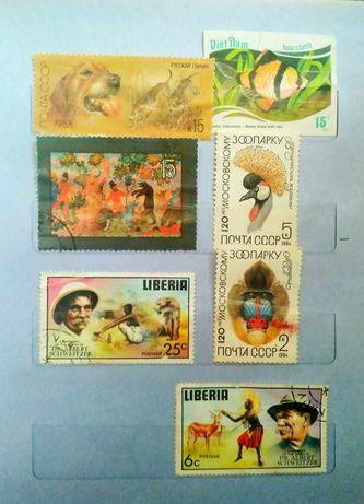 Продам марки 70-80 годов