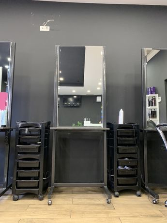 Зеркало парикмахерское, двухстороннее
