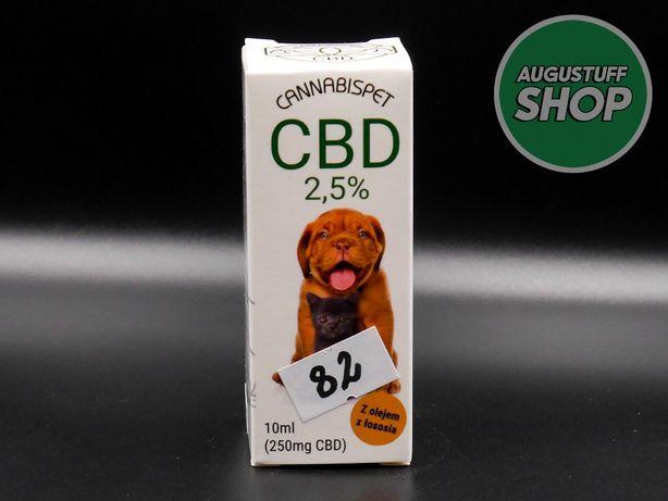 Olej z konopi dla zwierząt CBD 2,5% -10ml