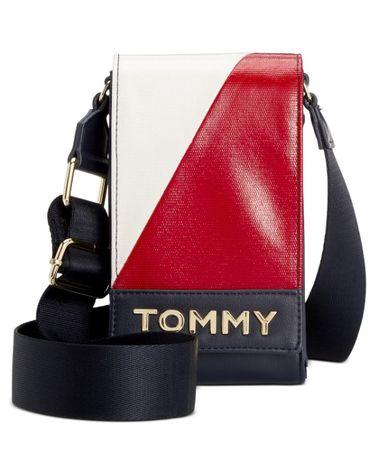 Сумочка кроссбоди для мобильного телефона TOMMY HILFIGER. Оригинал