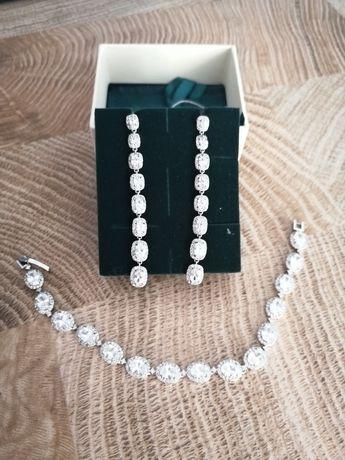 Biżuteria kolczyki+ bransoletka