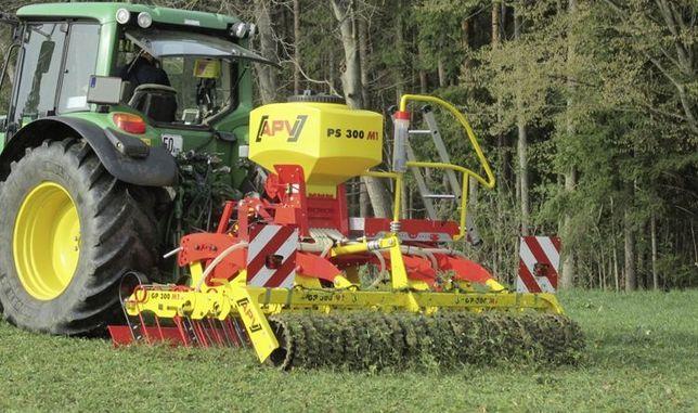 Usługi rolnicze, siew traw, kukurydzy, zbóż, odśnieżanie, podsiew traw