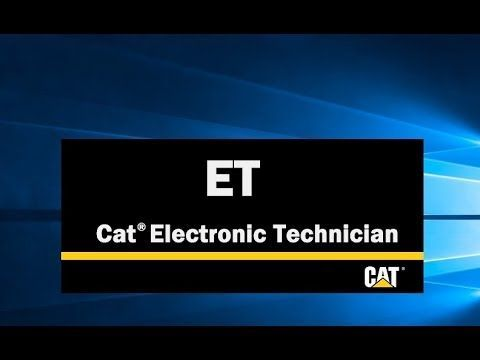 Caterpillar Electronic Technician (Cat ET 2019A)
