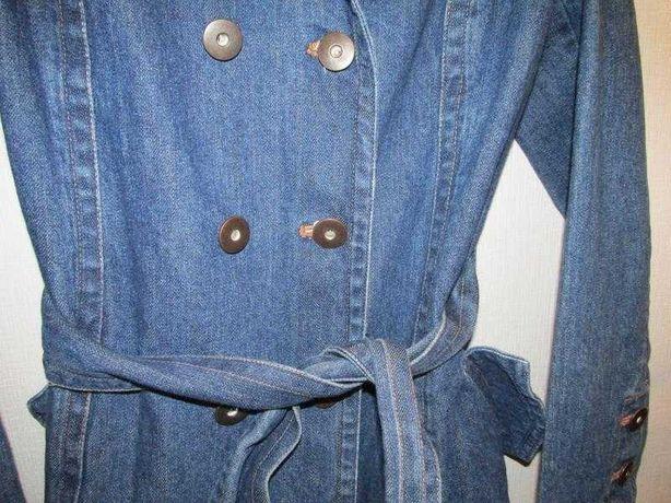 Пальто джинсовое crazy world (м)